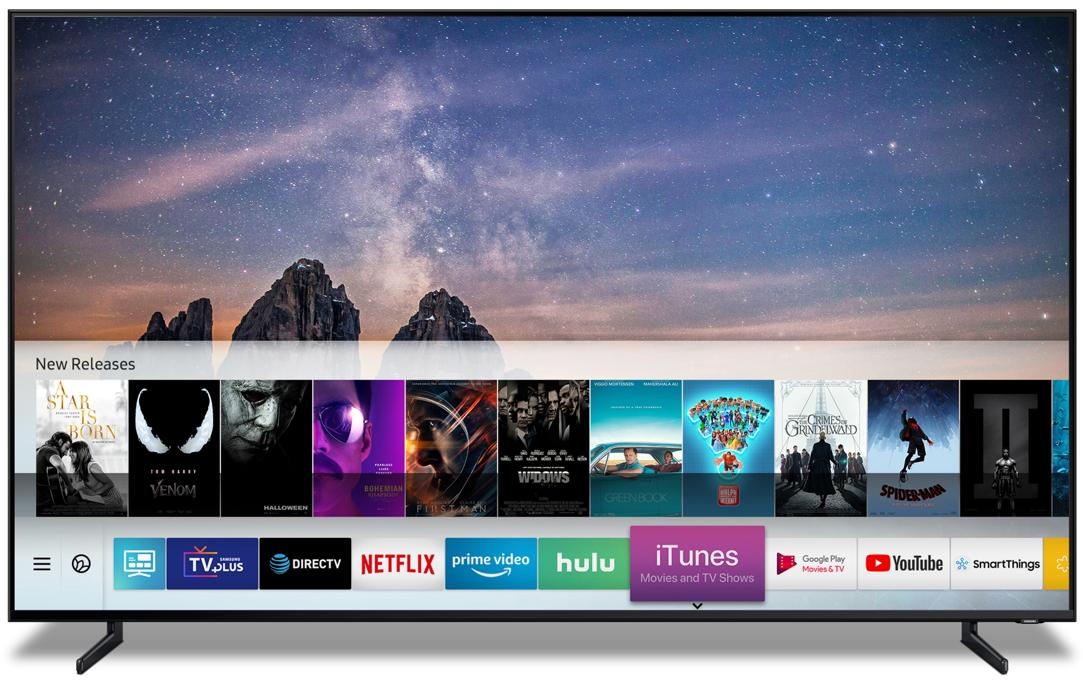 iTunes App for Samsung TVs