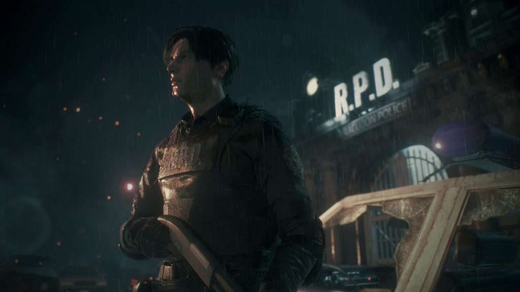 The Resident Evil 2 demo in Japan is less sticky and icky