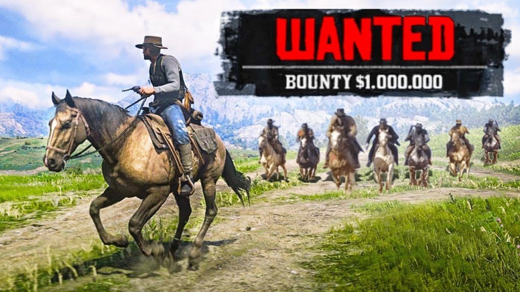 Red Dead Redemption 2, Tips and Tricks, Part 8: Wanted status and the Law
