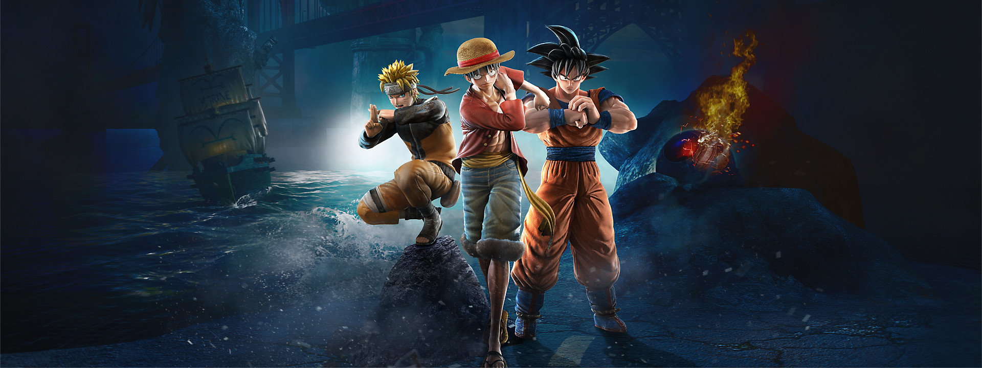 Jump Force Fighting game