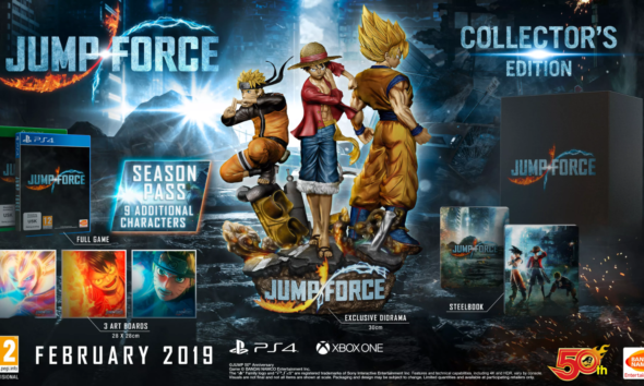 Jump Force all characters trailer