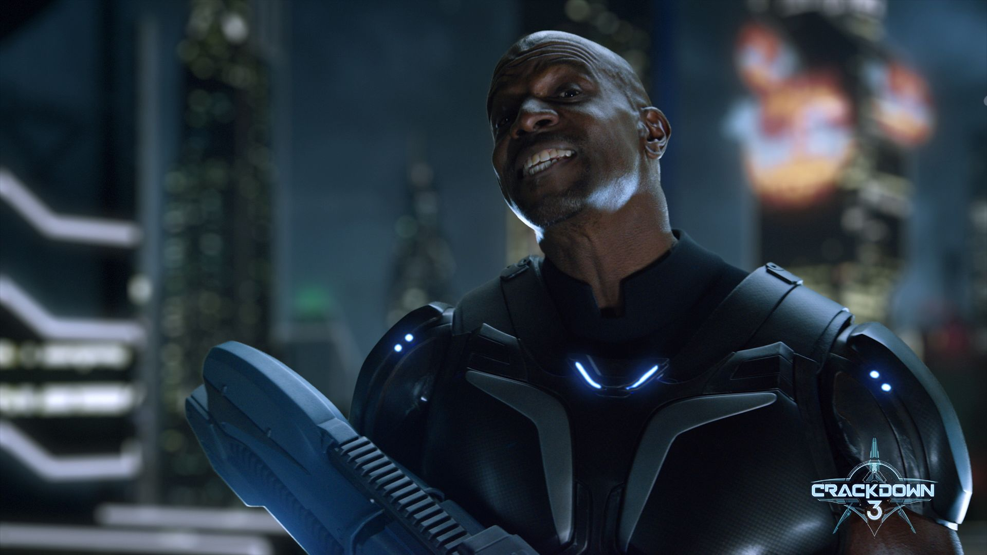 Terry Crews as Commander Jaxon