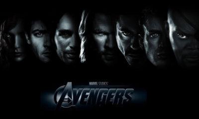 Avengers DVD,