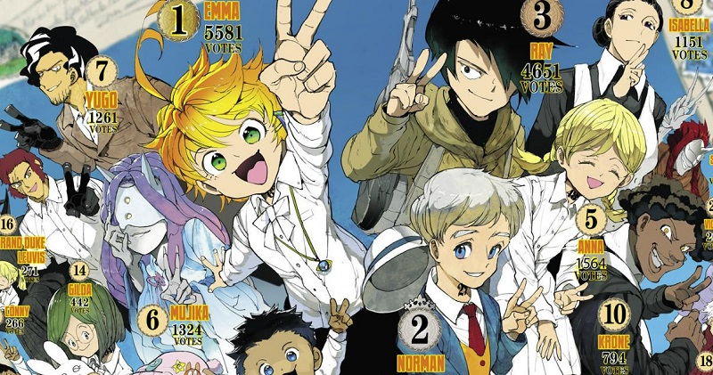 Promised Neverland Chapter 133