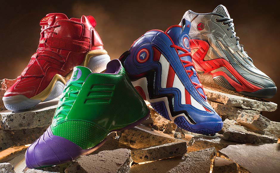 Marvel x Adidas Sneakers