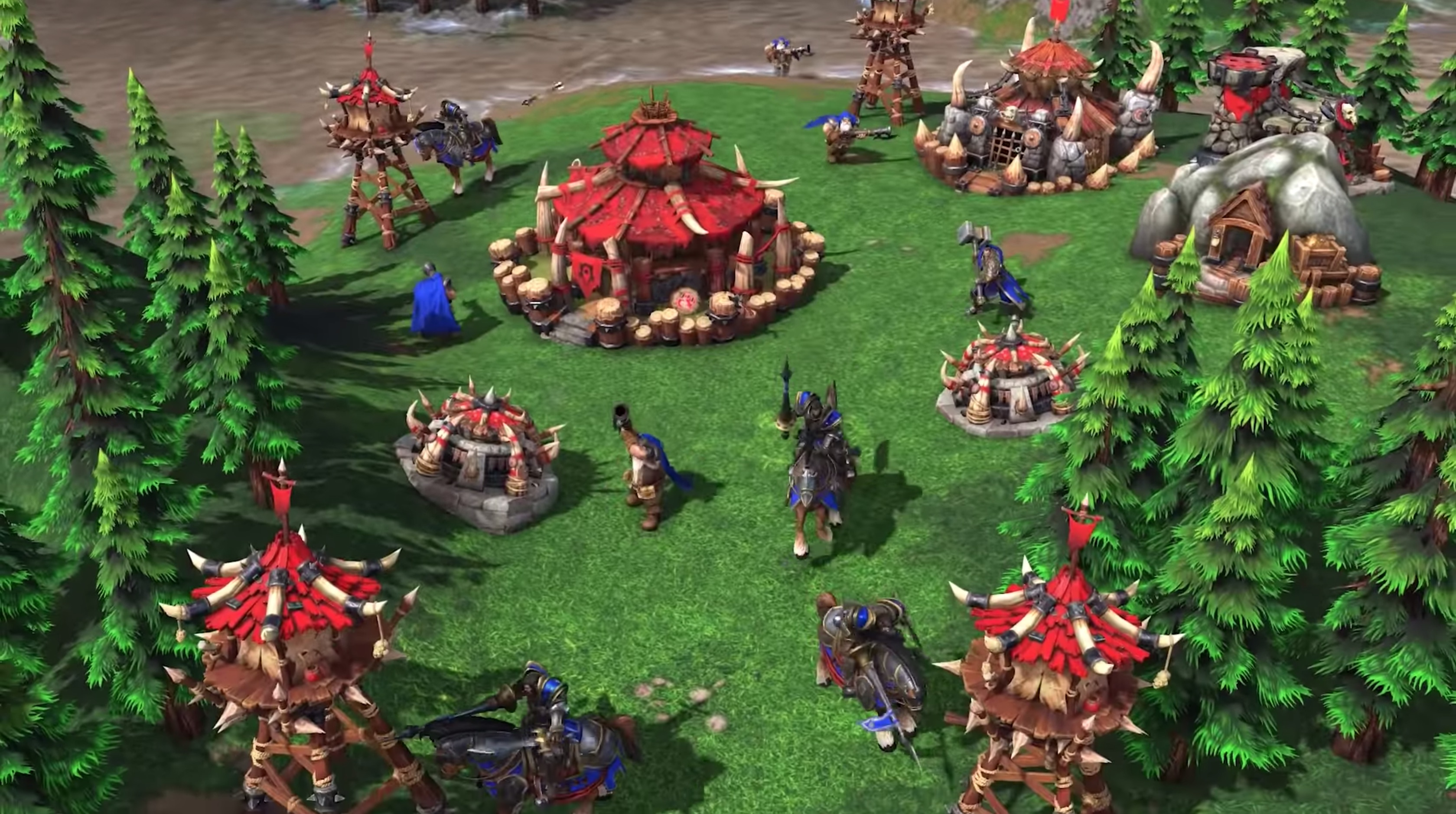 Warcraft III: Reforged Improve Battle System