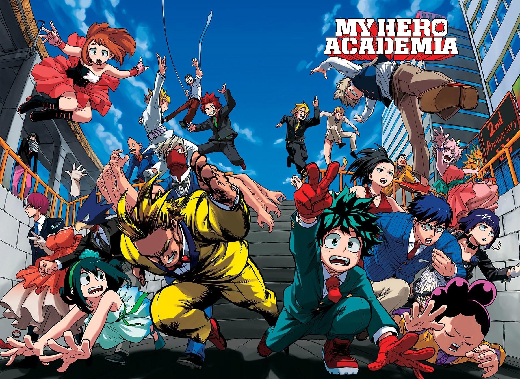 My Hero Academia Chapter 229