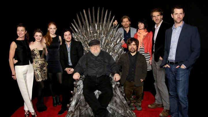 "George R.R. Martin ""Game of Thrones"""
