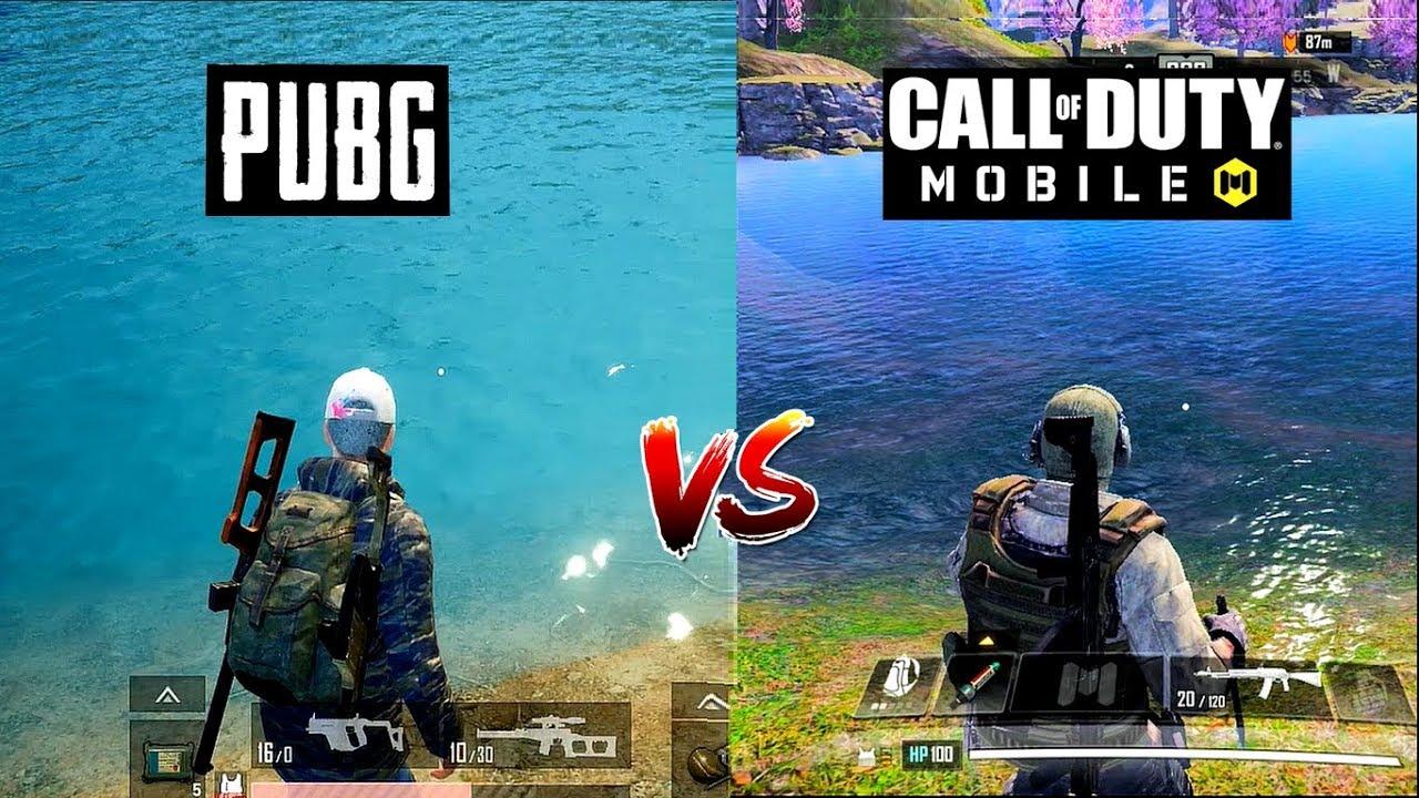 PUBG Mobile vs Call of Duty Mobile