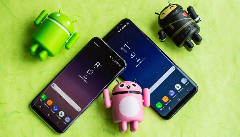 Samsung Galaxy S10,S9 and S8