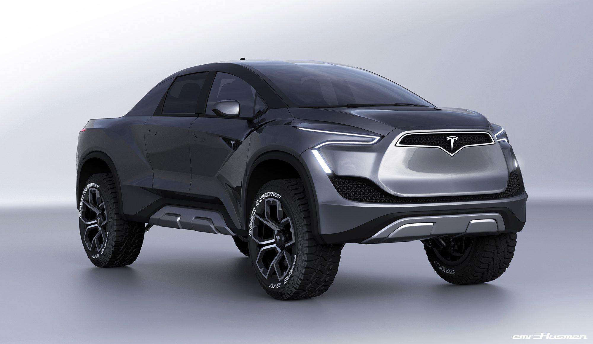 Tesla pickup truck