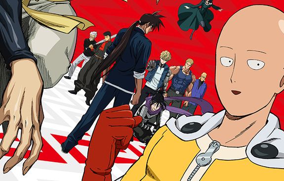 One Punch Man Season 2 Episode 10