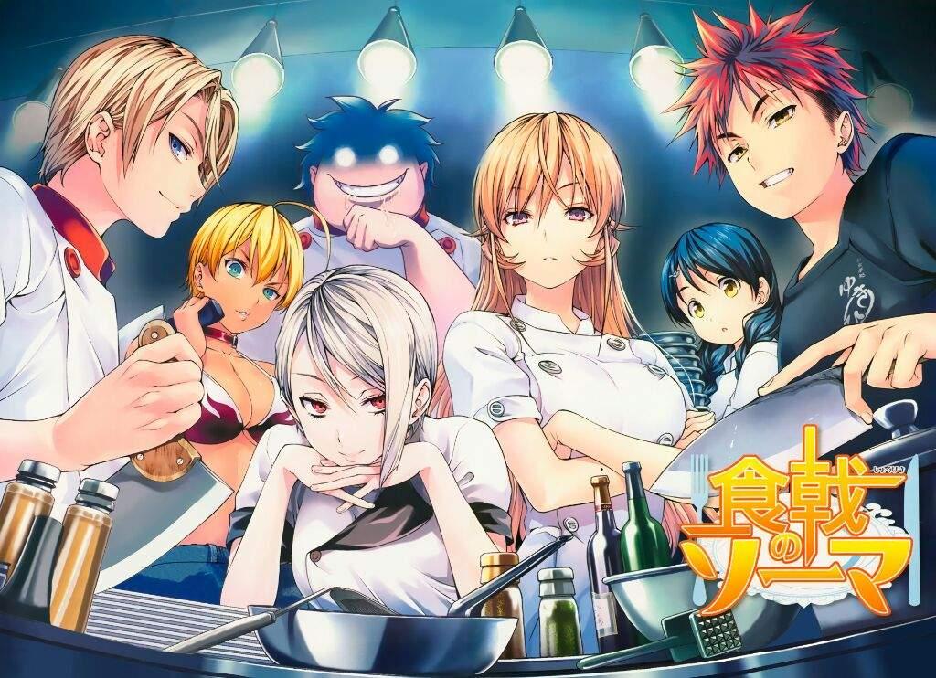 Food Wars!: Shokugeki no Soma Season 4