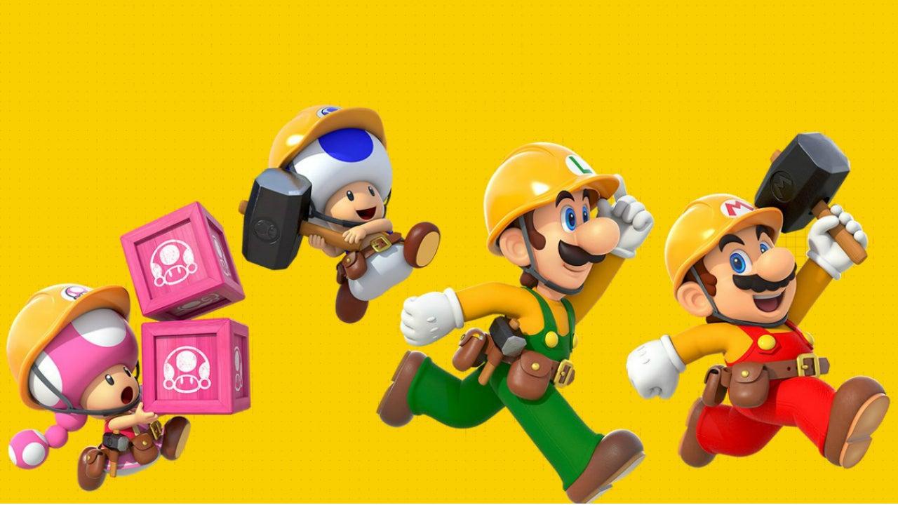 Super Mario Maker Console game