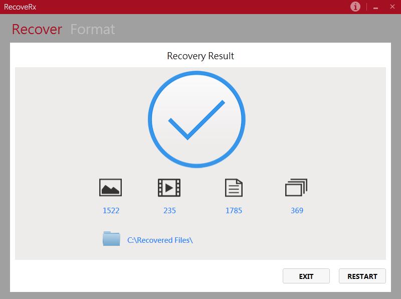 RecoveRx 3.9.0