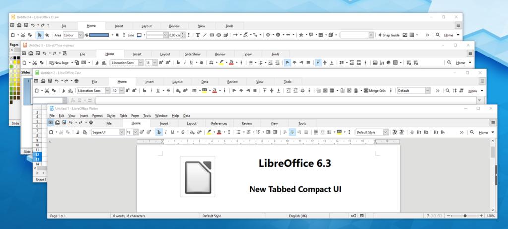 LibreOffice 6.3.0 Beta 1