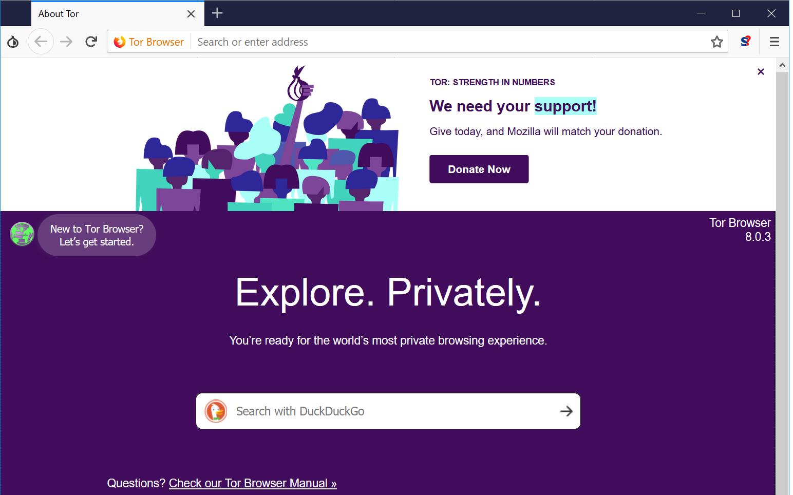 Tor Browser 8.5.4