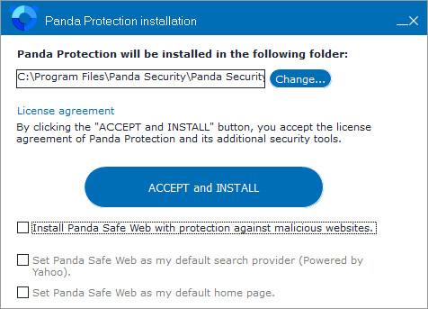 Panda Free Antivirus 18.07.04 (offline installer)