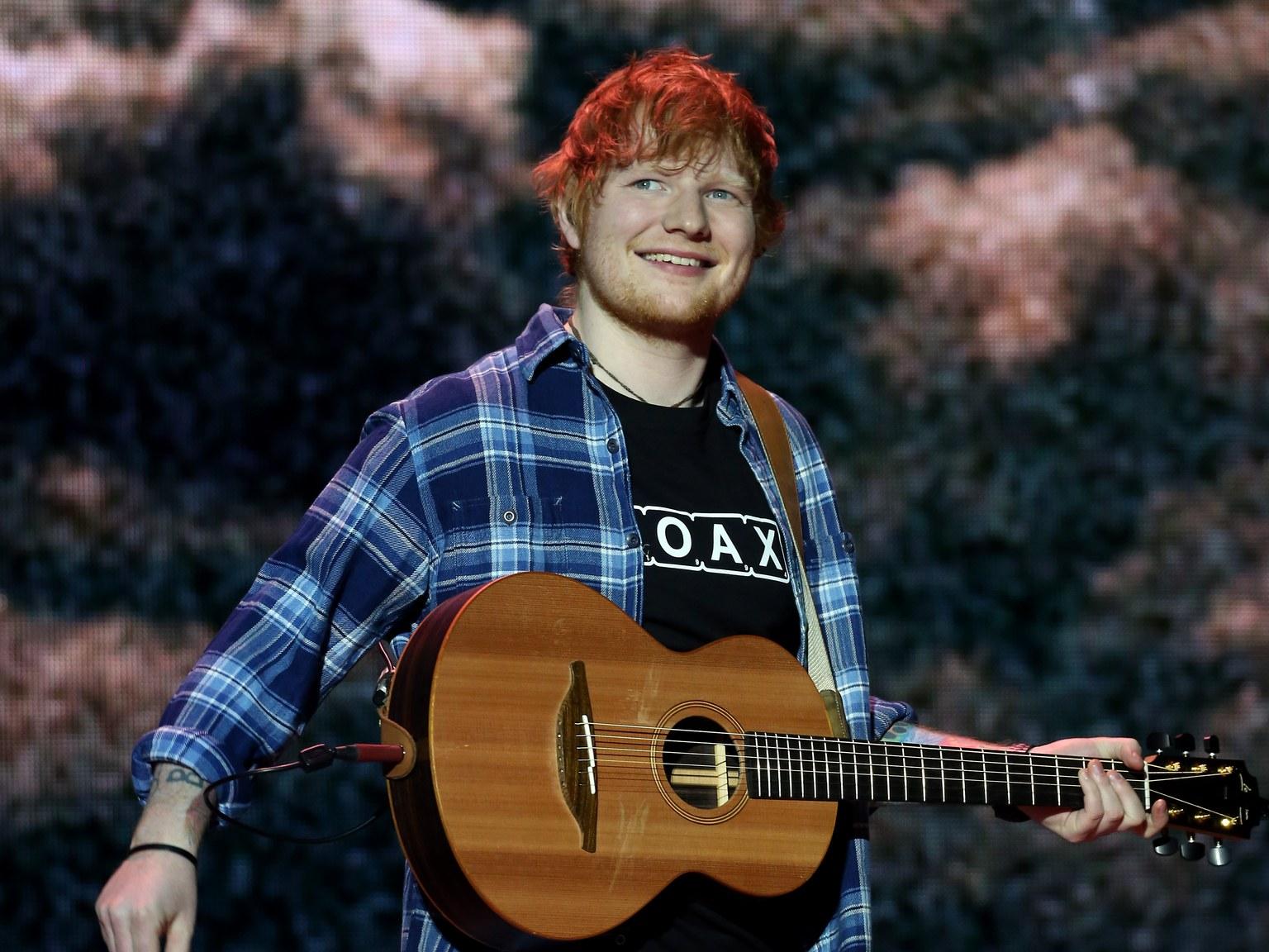 Ed Sheeran Singer-songwriter