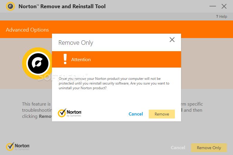 Norton Remove and Reinstall
