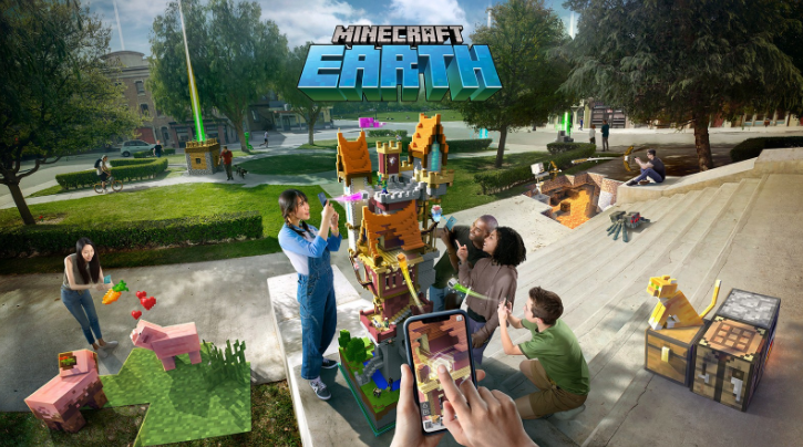 Minecraft Earth Mobile game