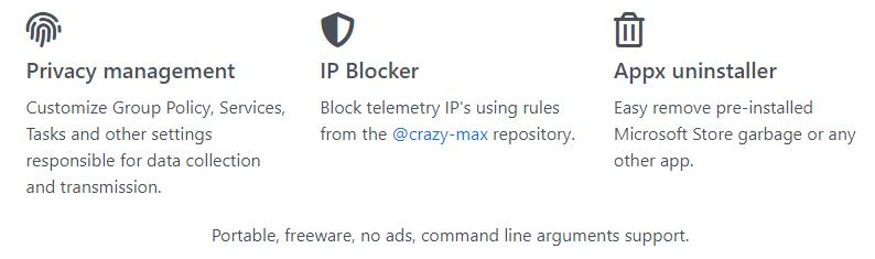 WPD (Windows Privacy Dashboard) 1.3.1203