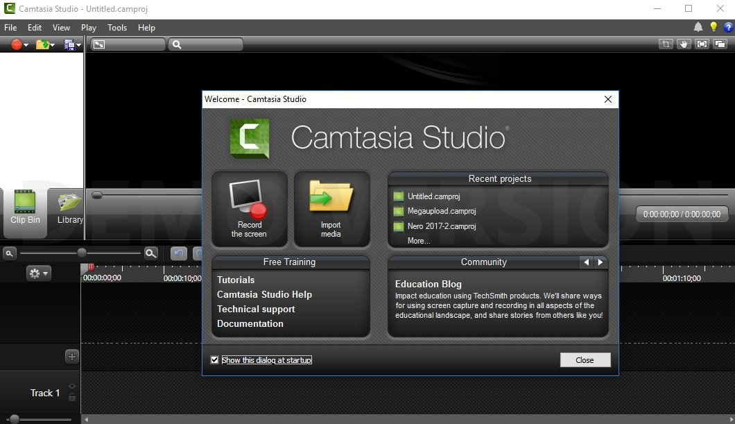 Camtasia Studio 2019.0.3