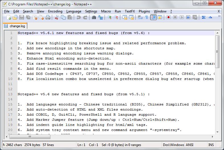 Notepad++ 7.7.1