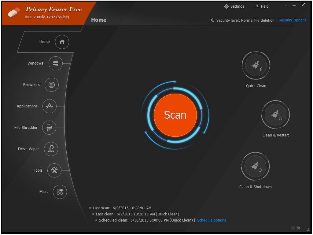 Privacy Eraser Free 4.51.6 Build 3012