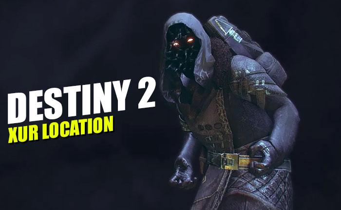 Destiny 2 Xur Location