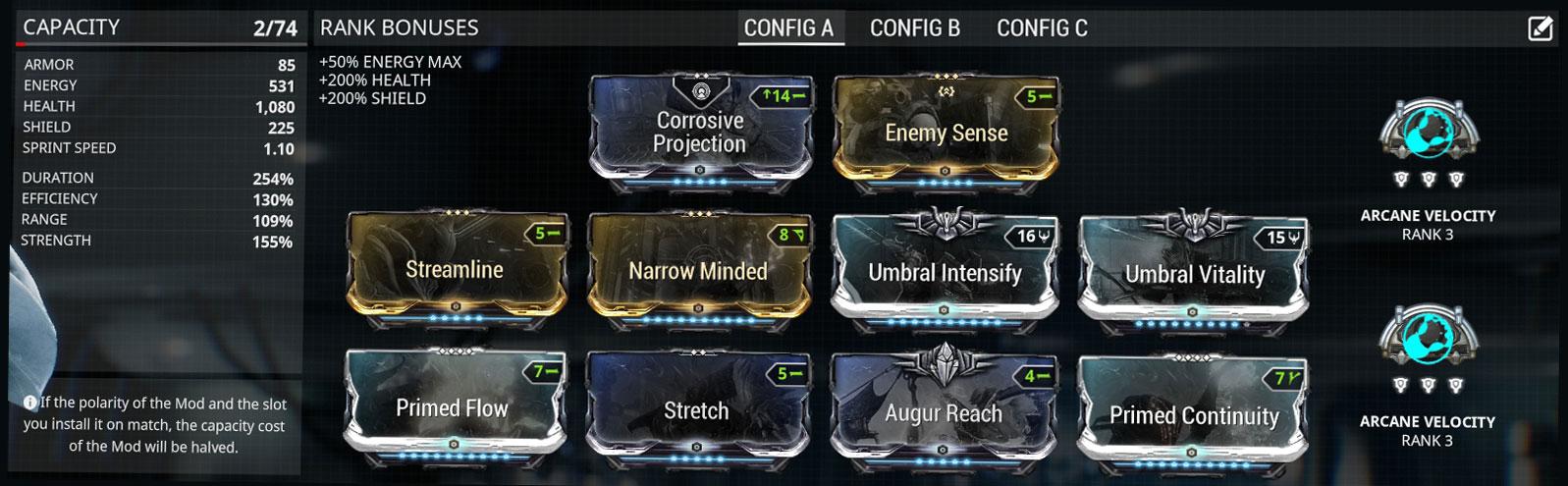 Mesa Prime Build