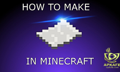 make a book and paper in minecraft