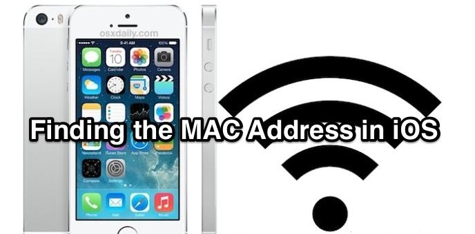Find a Mac Address