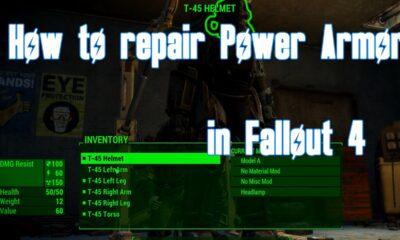repair power armor fallout 4