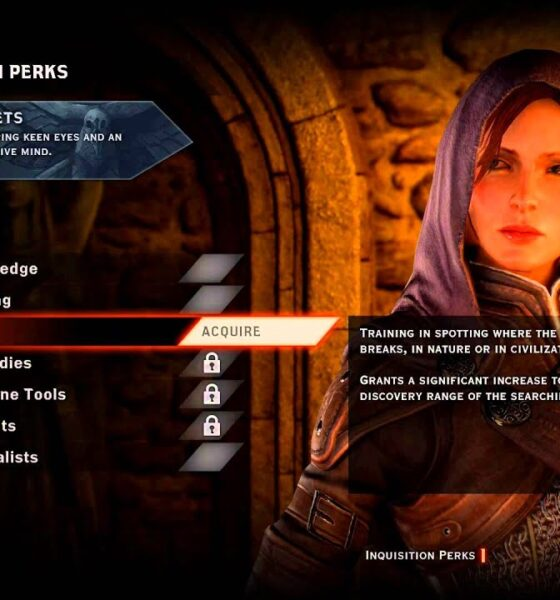 Dragon Age Inquisition Best Perks