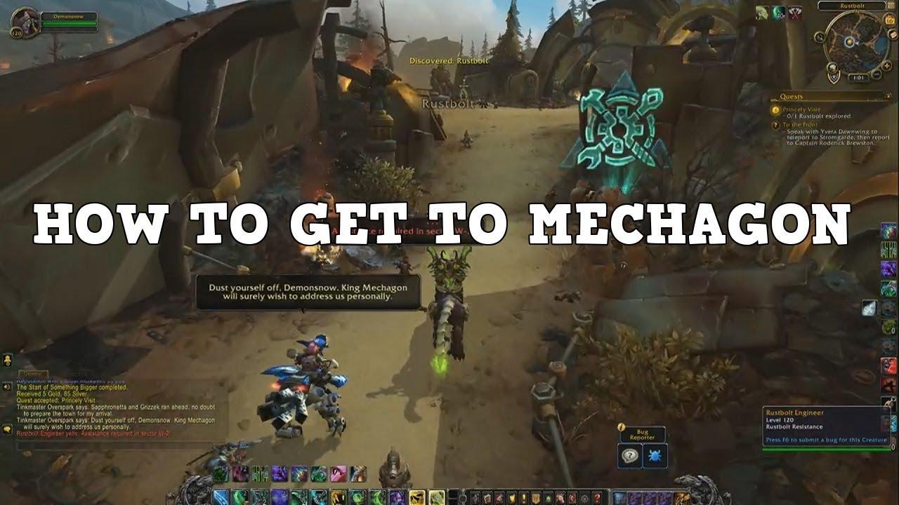 Unlock Mechagon