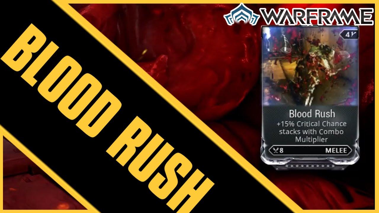 Blood Rush Warframe