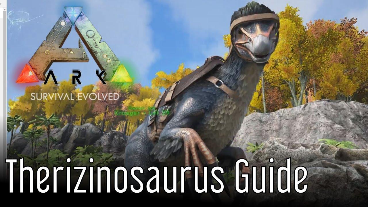 Ark Therizinosaurus Guide