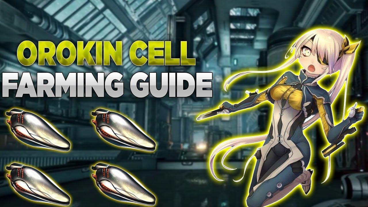 Orokin Cell Farming