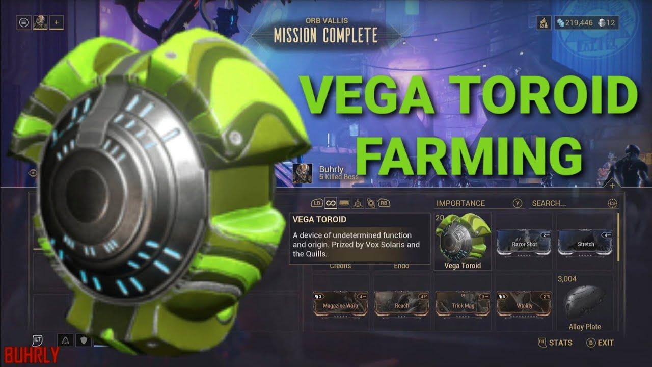 Vega Toroid Farm
