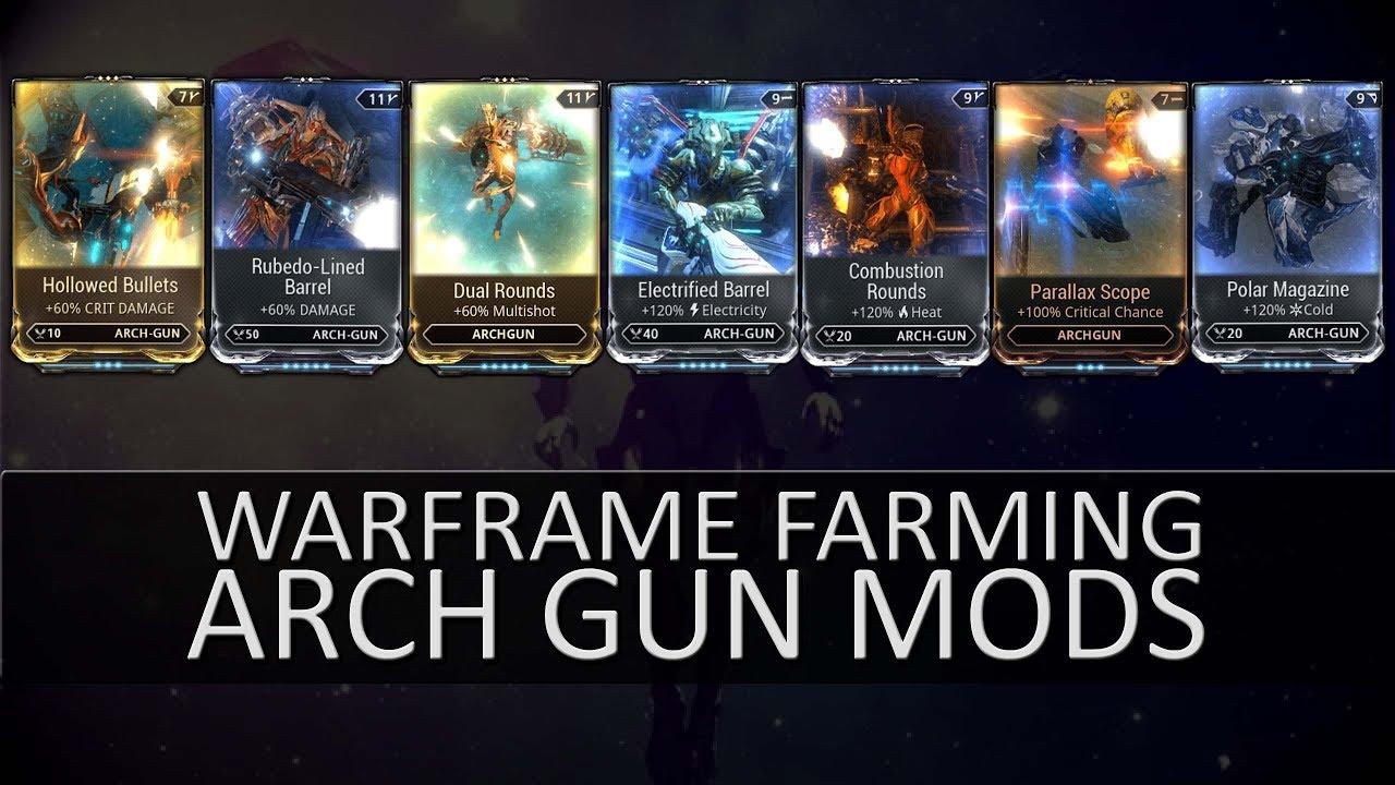 Archwing Mod Farming