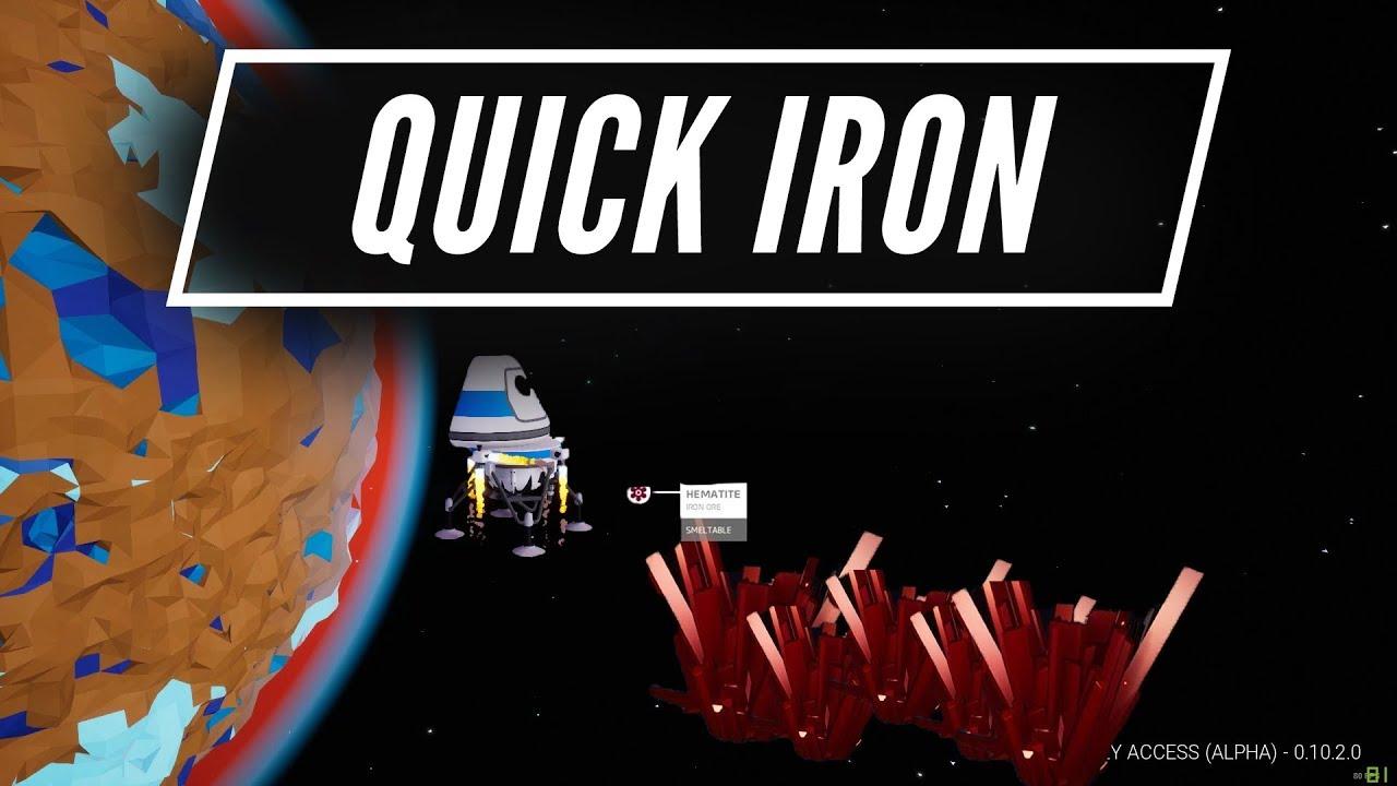 Iron in Astroneer