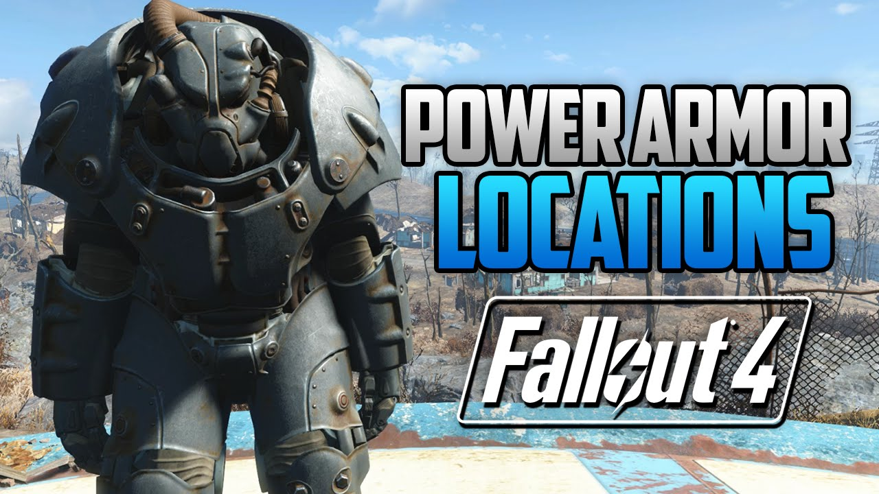 Power Armor Locations