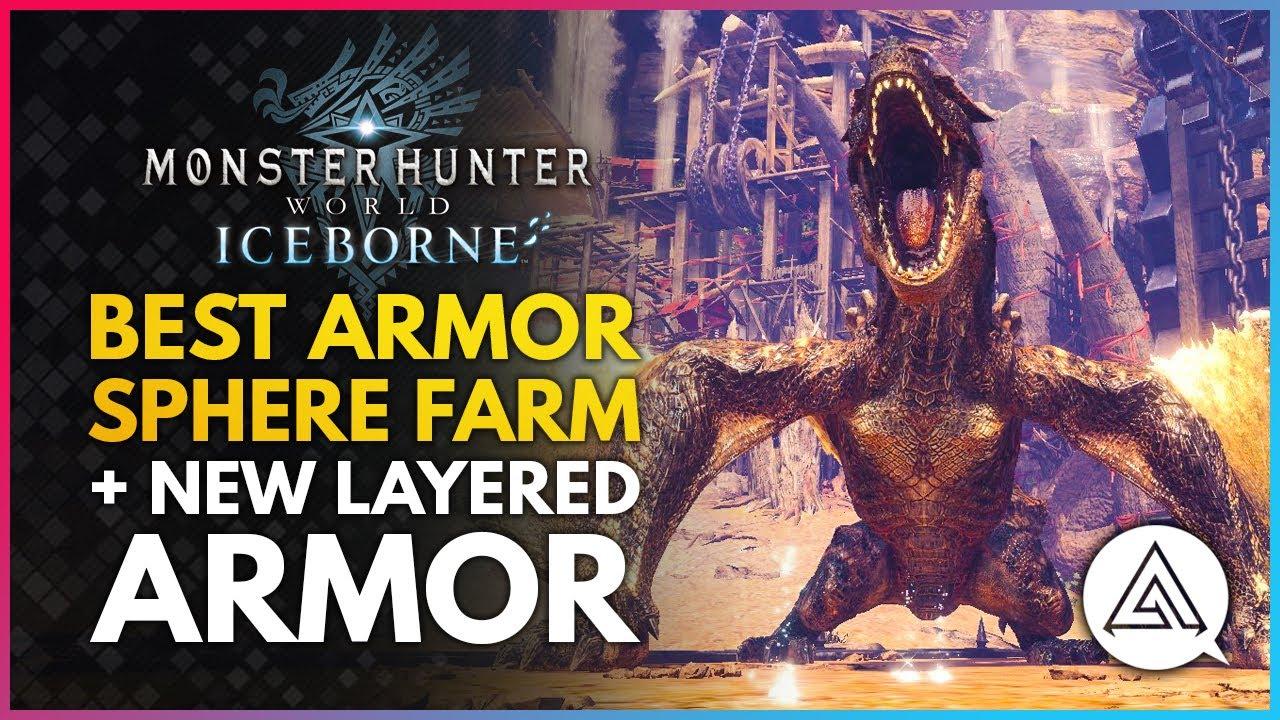 Best Armor Sphere Farm