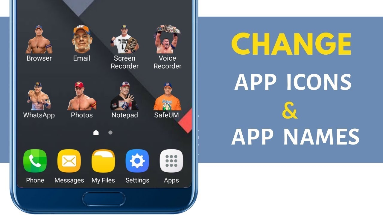 Change App Icons on your Smartphone