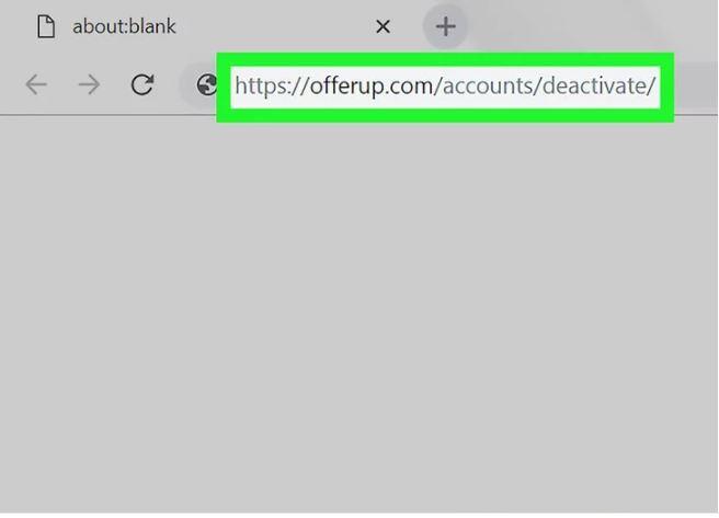 Delete Offerup Account