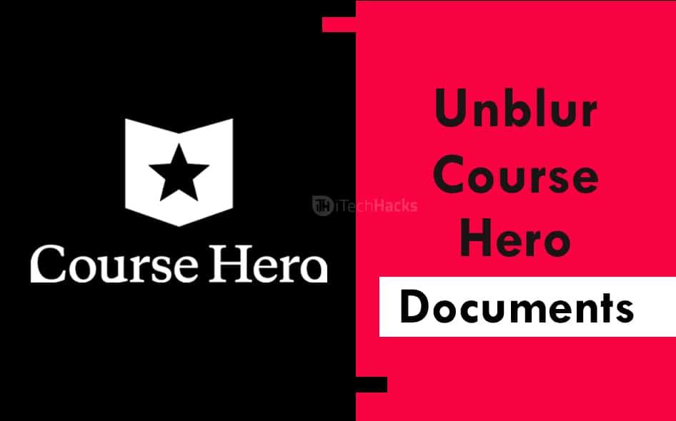 Unblur Course Hero on Chrome & Mac