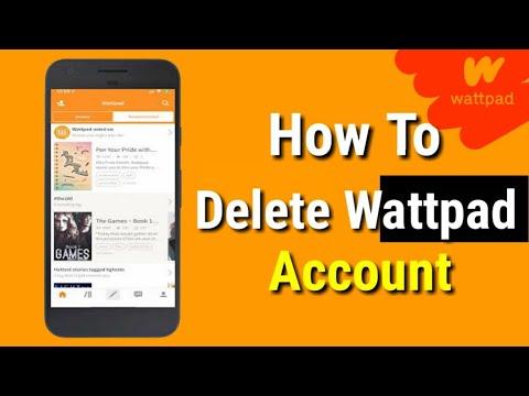 Delete Wattpad Account