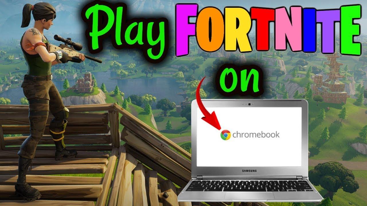 Play Fortnite on Chromebook