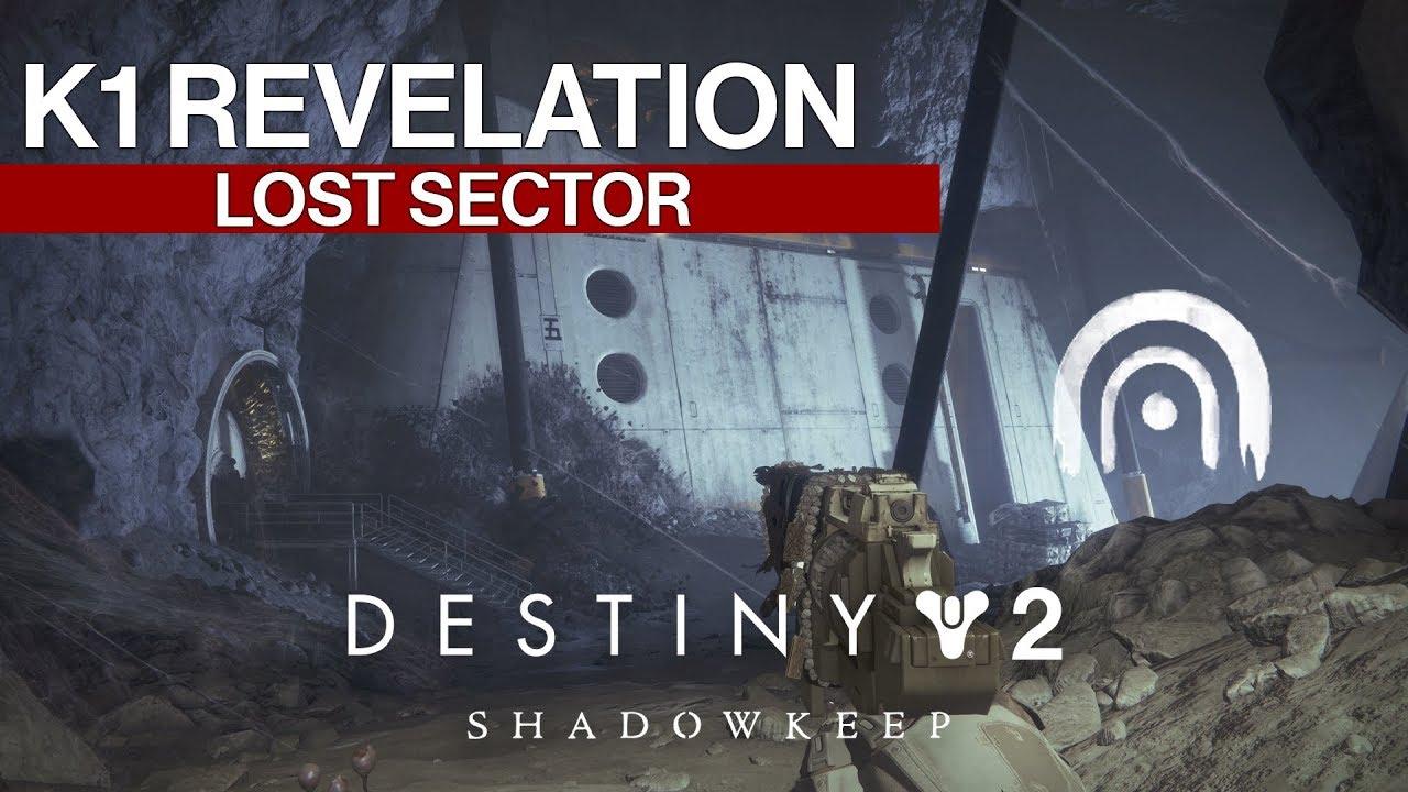 K1 Revelation Lost Sector